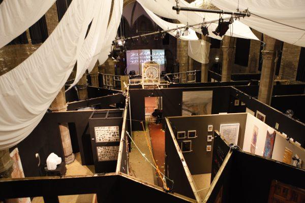 HIdden Door 2010 at the Roxy - a maze of art