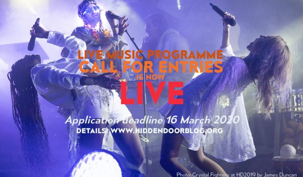 Live Music Call for Entries