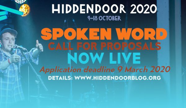 Hidden Door call for Spoken Word proposals