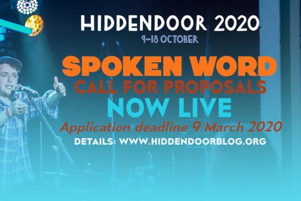 Hidden Door call for Spoken Word proposals
